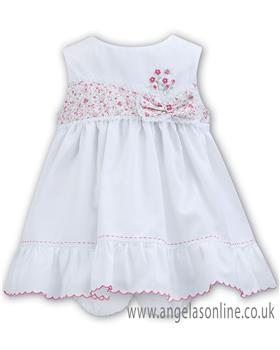 Sarah Louise baby girls dress 011133