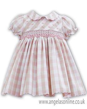 Sarah Louise baby girls dress 011148