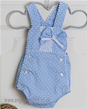 Dolce Petit baby girls blouse & dungaree 23-2001-2C3 Blue