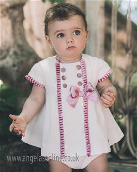 Dolce Petit Baby Girls Dress 23-2101-VB Cream