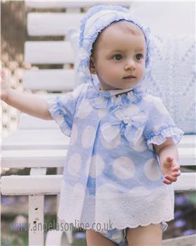 Dolce Petit baby girls dress & knicks 23-2129-VBG