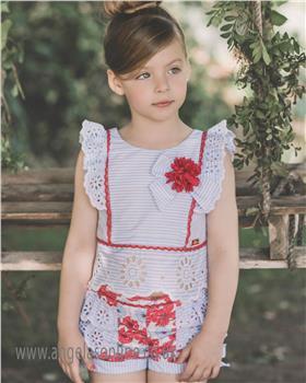 Dolce Petit blouse & short set 23-2215-23