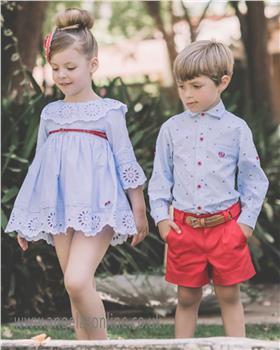 Dolce Petit girls dress 23-2216-V