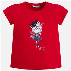 Mayoral girls top & legging 3032-3704-18 RD