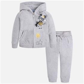 Mayoral girls top & jogsuit 3036-3810-18 Grey