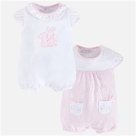 Mayoral baby girls romper all in one 1740-18 Pink