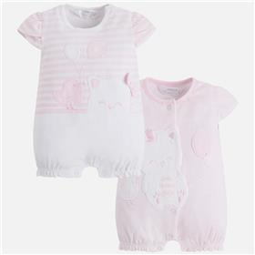 Mayoral baby girls romper all in one 1742-18 Pink