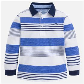 Mayoral boys long sleeve polo 3178-18 Royal Blue