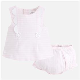 Mayoral baby girls summer dress 1102-18 Pink