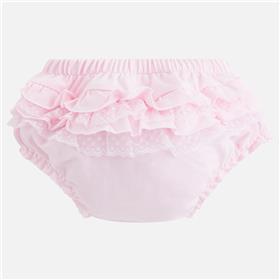 Mayoral baby girls frill knicks 9757-18 Pink
