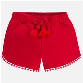 Mayoral girls shorts 607-18 Red