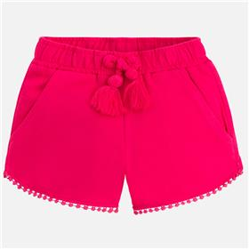 Mayoral girls shorts 607-18 Cerise