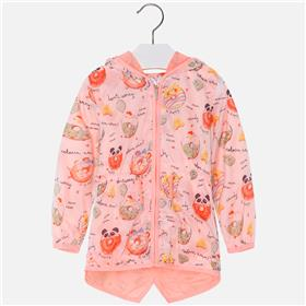 Mayoral girls jacket 3430-18 Neon