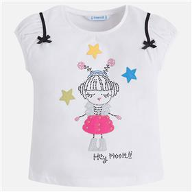 Mayoral girls top & short 3020-3218-18 WH