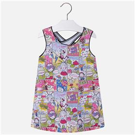 Mayoral girls summer dress 3998-18 Multi