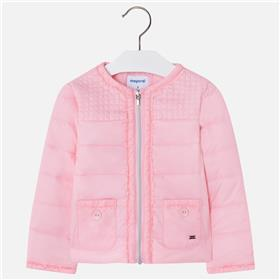 Mayoral girls summer jacket 3424-18 Pink