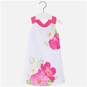 Mayoral girls dress 3994-18 pink