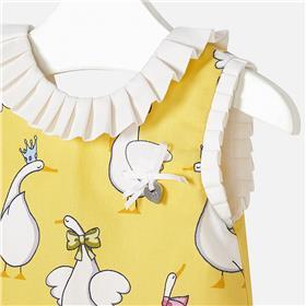 Mayoral Baby Girls Dress 1958-18 Yellow