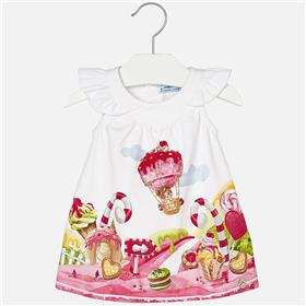 Mayoral Baby Girls Dress 1980-18 Pink