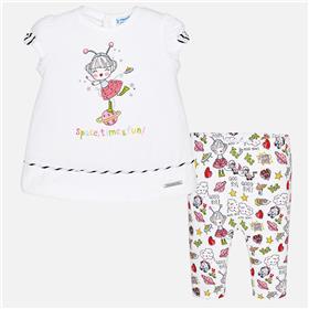 Mayoral Baby Girls Legging Set 1780-18 Pink