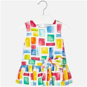Mayoral Baby Girls Dress 1940-18 Multi