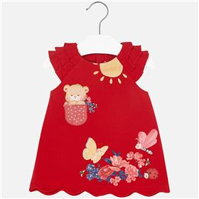Mayoral Baby Girls Dress 1916-18 Red