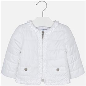 Mayoral Baby Girls Jacket 1436-18 White