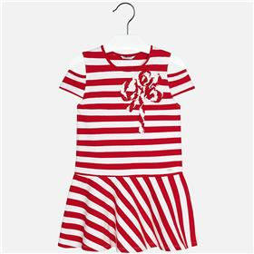 Mayoral girls summer dress 6940-18 Red