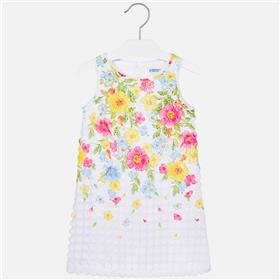Mayoral girls summer dress 6964-18 Yell
