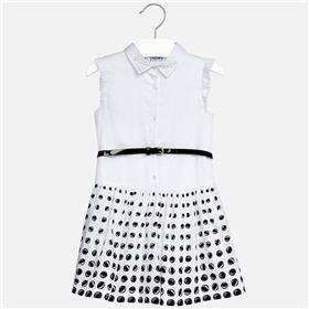 Mayoral girls summer dress 6948-18 Black