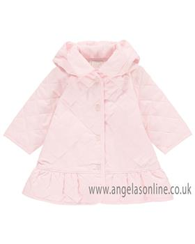 Emile et Rose baby girls quilted jacket 9275PP Mary