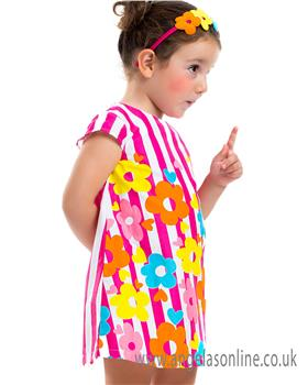 Agatha Ruiz Girls Dress 5121-18 AS