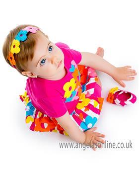 Agatha Ruiz Girls Dress 5120-18 AS