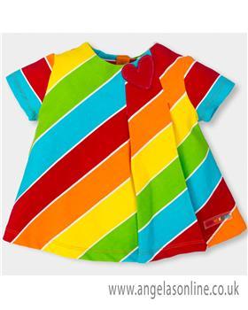 Agatha Ruiz Girls Dress 5202-18 Multi