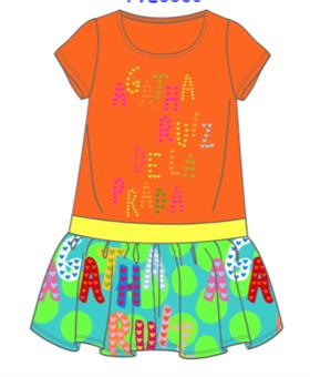 Agatha Ruiz girls dress 7VE3031-18