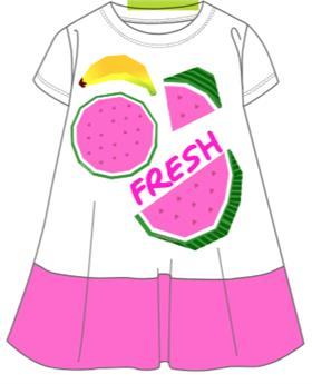 Agatha Ruiz girls dress 7VE3073-18