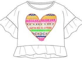 Agatha Ruiz girls Blouse & short 7TS4922-0868-18