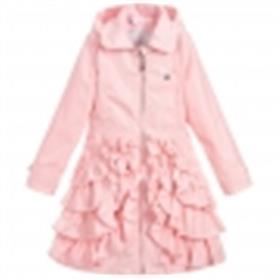 S&D Le Chic Girls Coat C8015200 Pink