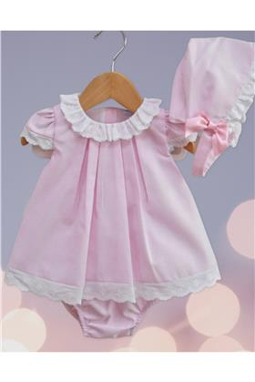 Sardon Girls Top, Knicks & Bonnet 18AB-115-18 PK