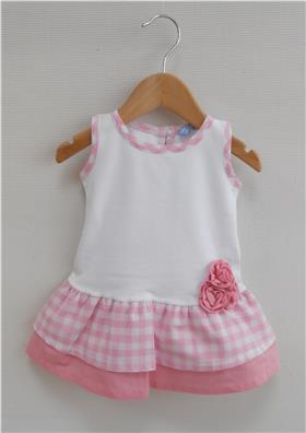 Sardon Girls Summer Dress 18CO-453 Pink