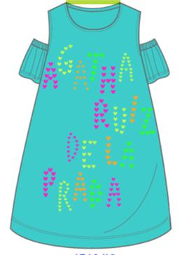 Agatha Ruiz girls dress 7VE3029-18