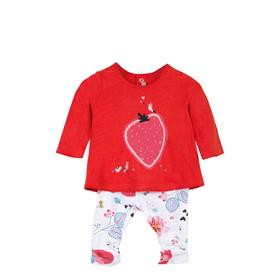 Catimini girls casual top & trouser CL36011