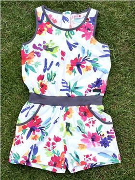 Boboli girls summer jumpsuit 455015-18