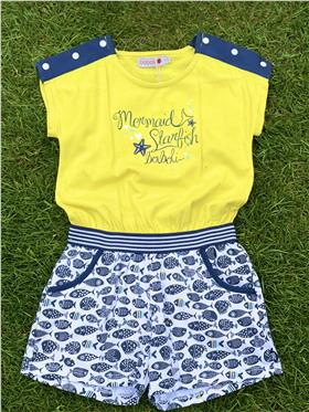 Boboli girls summer jumpsuit 825072