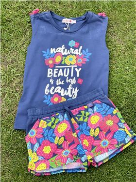 Boboli girls T shirt & shorts 825263-825274