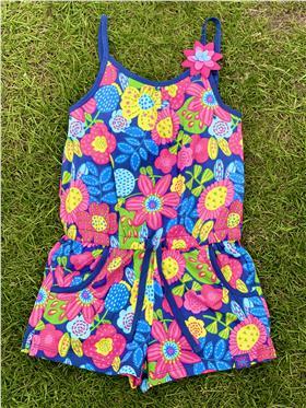 Boboli girls summer jumpsuit 825285-18