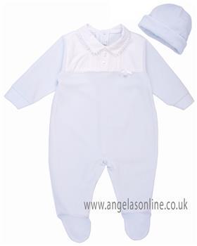 Coco babygrow & hat CCS5550 Blue
