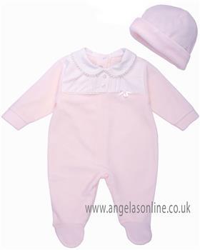 Coco babygrow & hat CCS5550 Pink