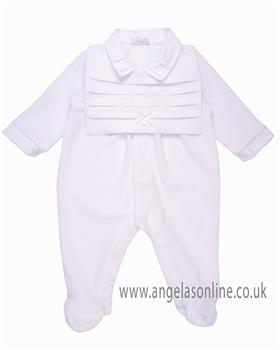 d521075cf671 Emile et Rose Baby boys all in one 1824pb Pluto £29.99. Coco babygrow  CCS5555 White
