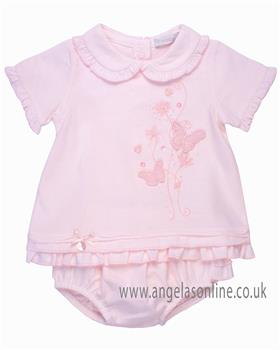 Coco girls top & bloomer CCS5585 Pink